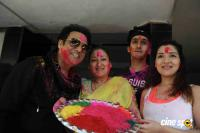 Govinda Celebrates Holi With His Family Photos