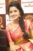 Anupama Parameswaran at VRK Silks Launch (24)