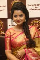 Anupama Parameswaran at VRK Silks Launch (26)
