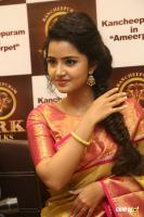 Anupama Parameswaran at VRK Silks Launch (27)