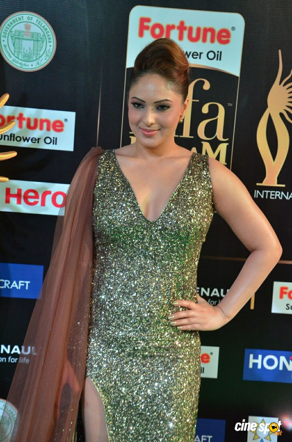 Nikesha Patel at IIFA 2017 (6)