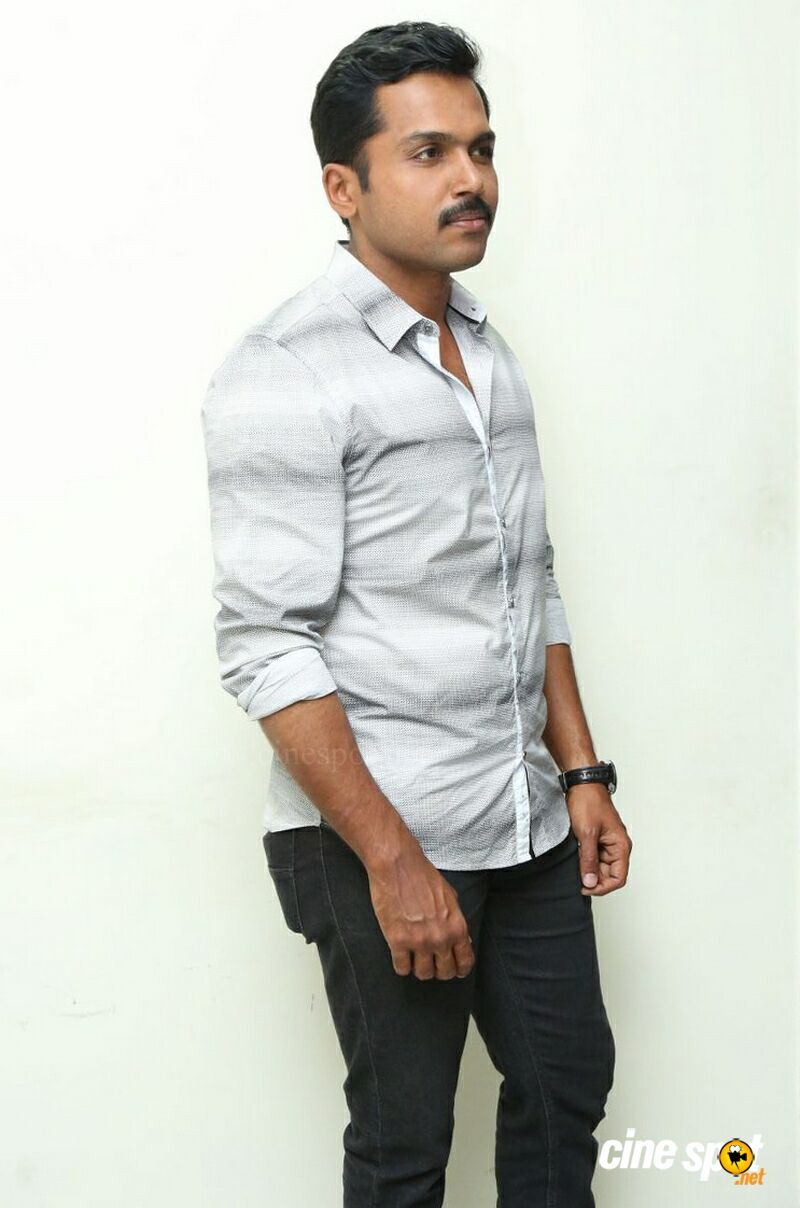 Karthi at Cheliyaa Movie Press Meet (7)