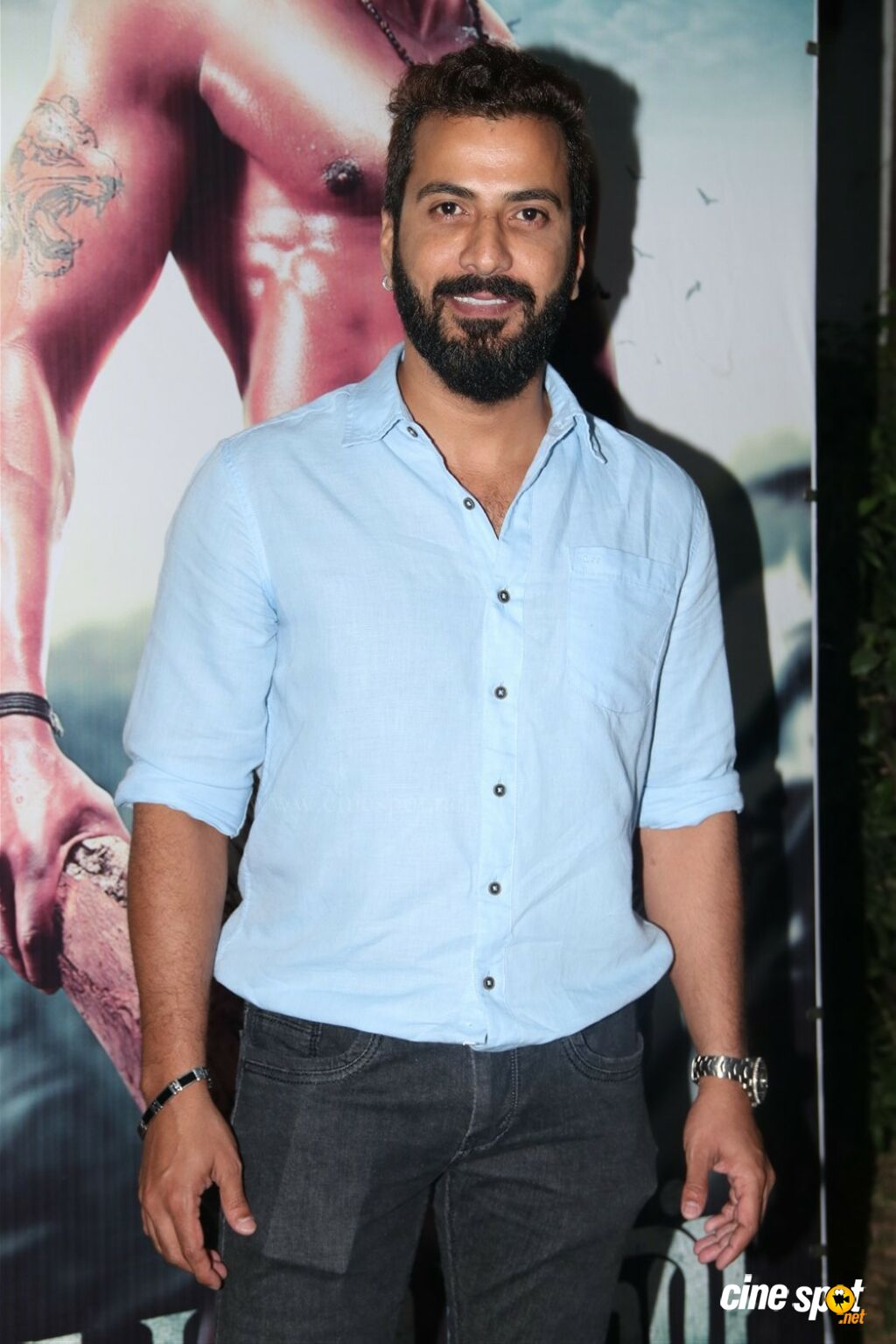 Jithan Ramesh at Kadamban Press Meet (2)