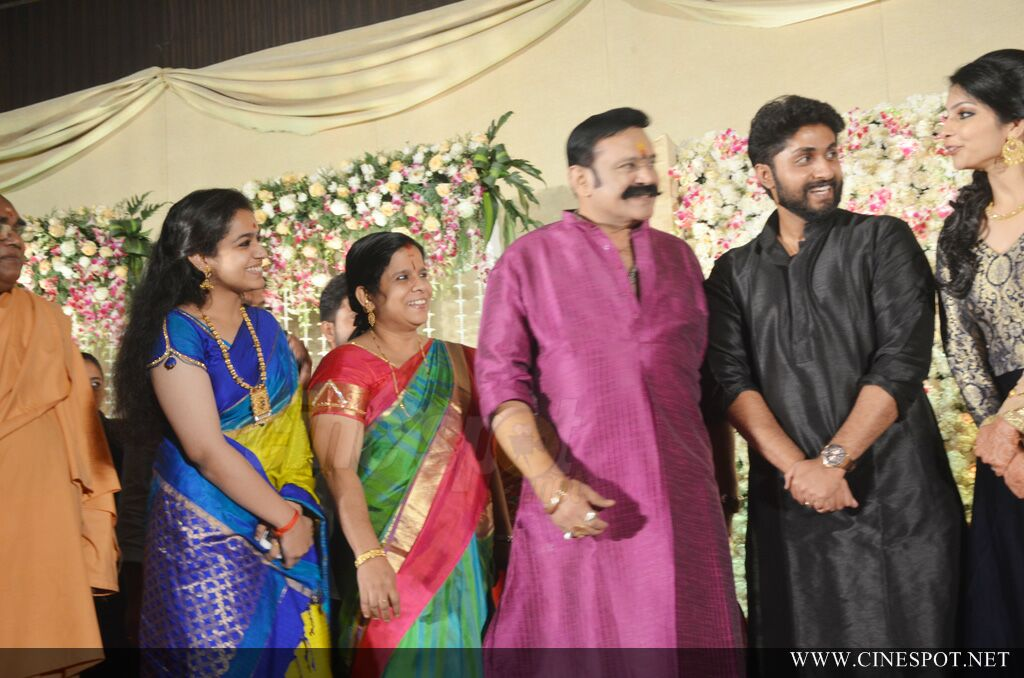 Dhyan Sreenivasan Wedding reception (127)