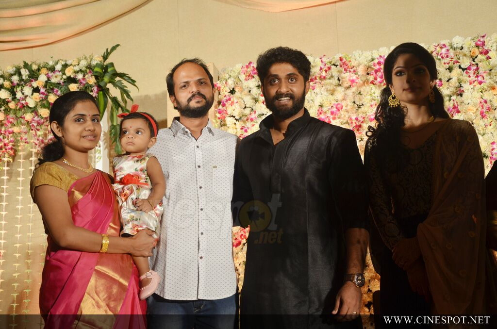 Dhyan Sreenivasan Wedding reception (12)