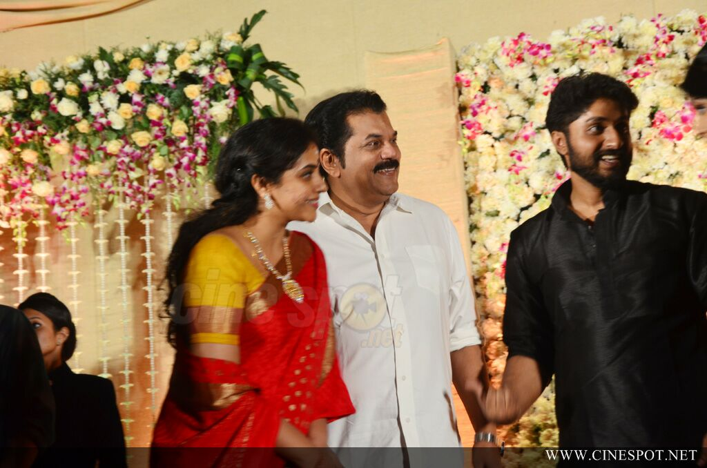 Dhyan Sreenivasan Wedding reception (16)