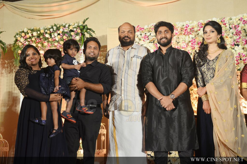 Dhyan Sreenivasan Wedding reception (7)