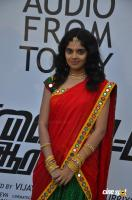 Shravya at Vilaiyattu Aarambam Audio Launch (1)