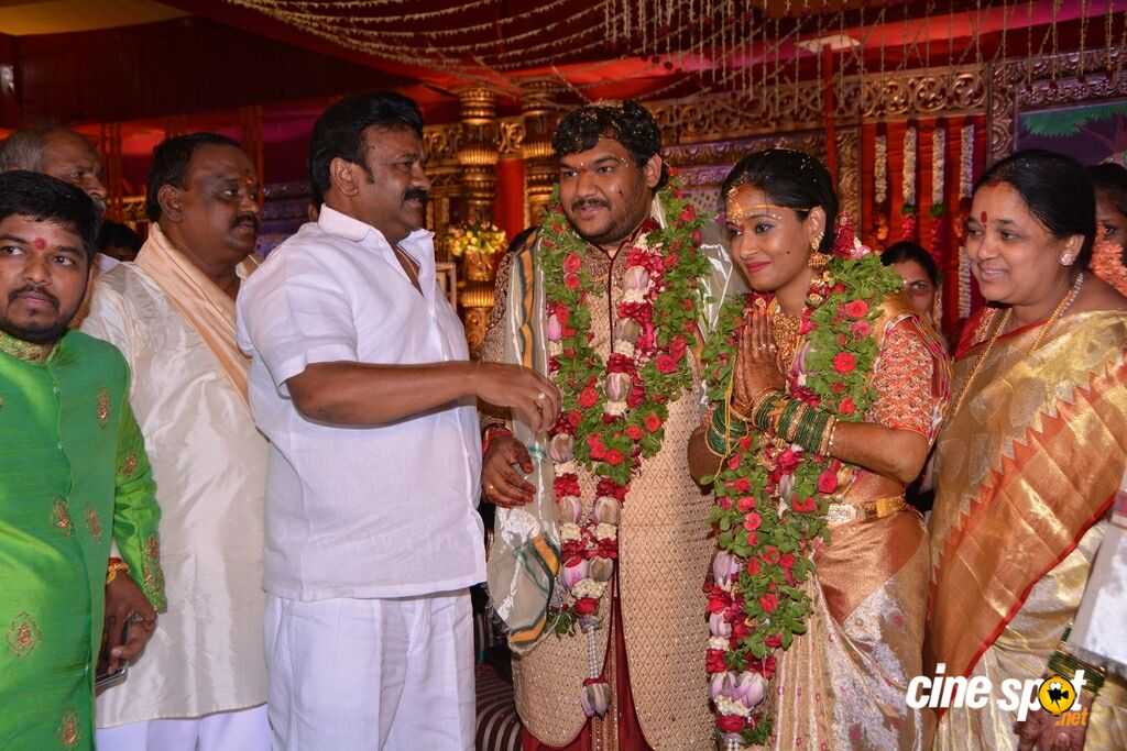 Chinna Srisailam Yadav Daughter Vanaja Wedding (38)