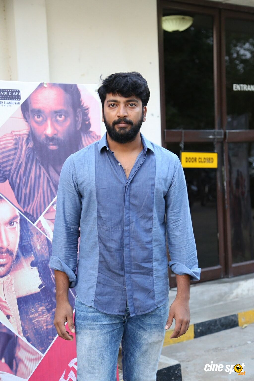 Kalaiyarasan at Yeidhavan Press Meet (1)