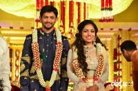 Kalamandir CMD Prasad Chalavadi Daughter Hanisha Wedding Photos