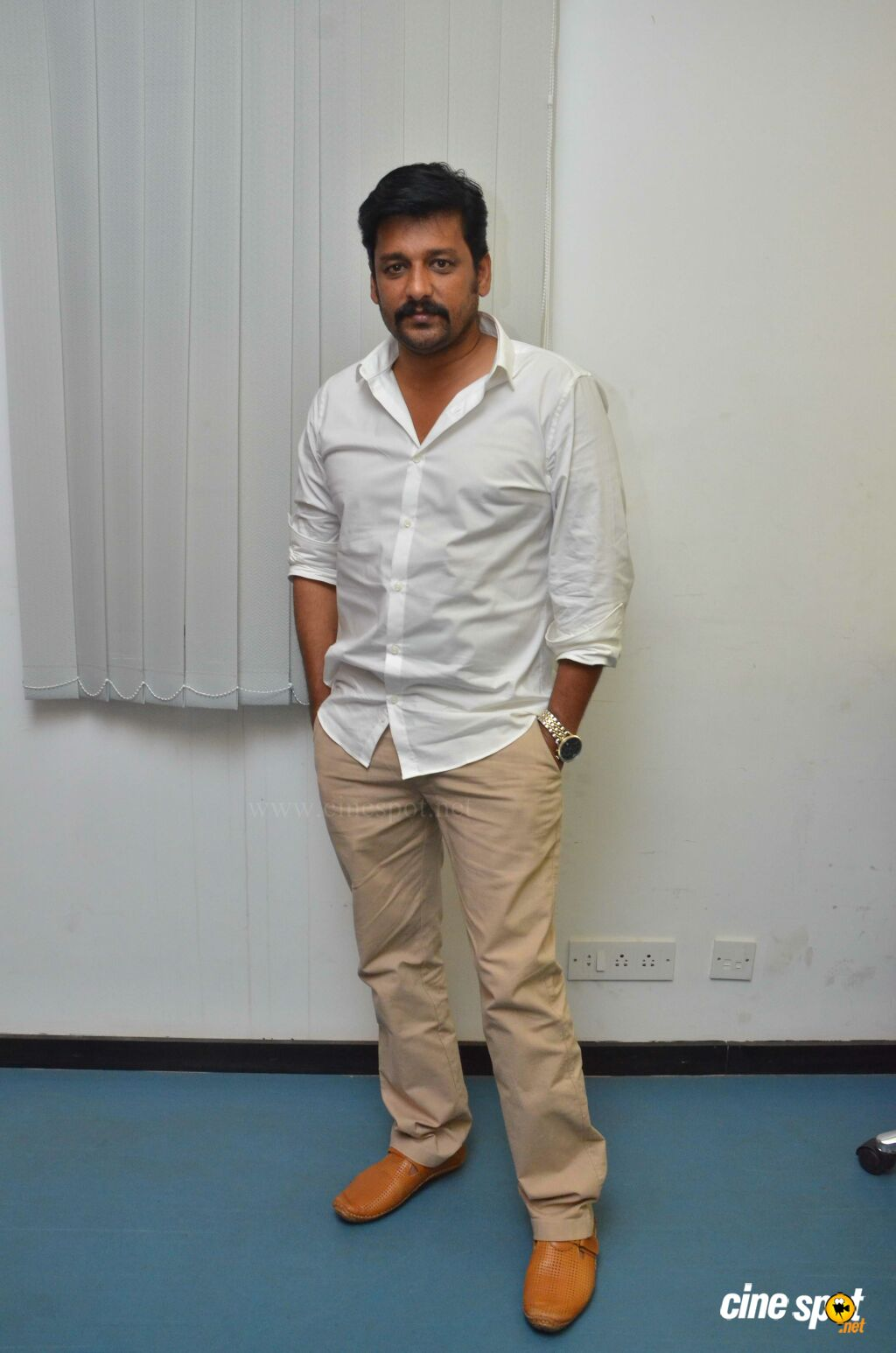 Vidharth at Kurangu Bommai Press Meet (1)