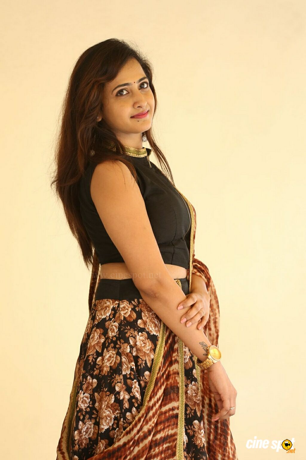 Lasya at Raja Meeru Keka Movie Press Meet (7)