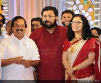Sabarinathan and Divya Iyer wedding reception (1)