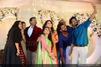 Dancer Biju Dhwani Tarang marriage reception photos
