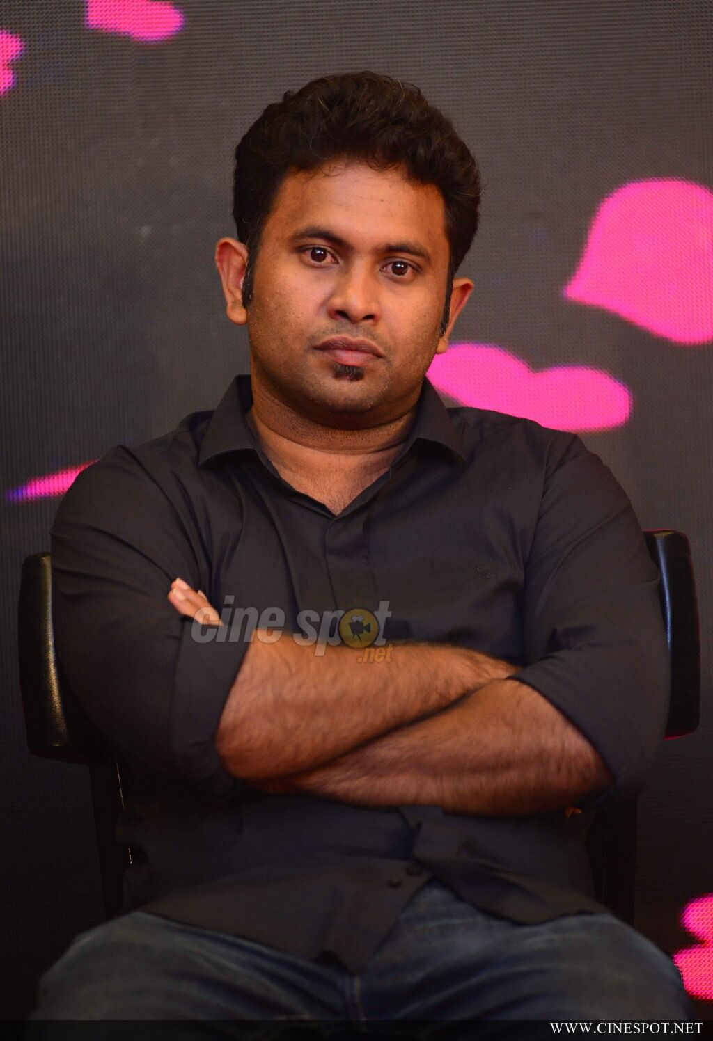Aju Varghese at Love Action Drama Title Launch (5)
