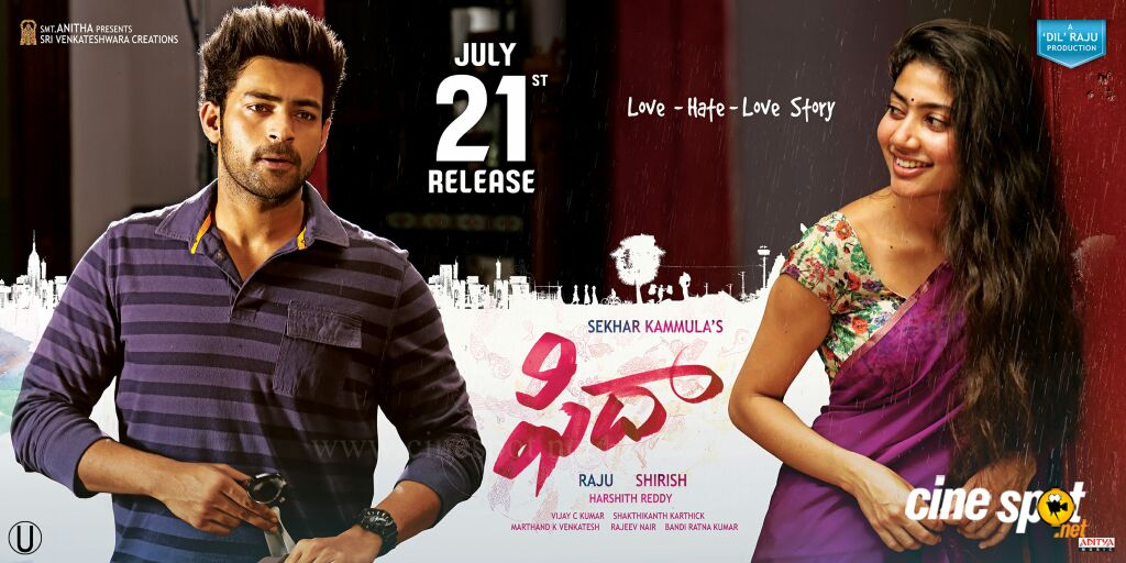 Fidaa Movie Release Date Posters (4)