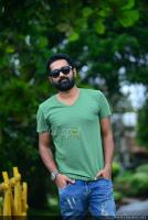 Asif Ali at Thrissivaperoor Kliptham Promo Meet (11)