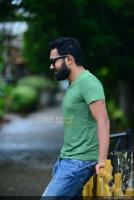 Asif Ali at Thrissivaperoor Kliptham Promo Meet (3)
