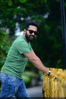 Asif Ali at Thrissivaperoor Kliptham Promo Meet (8)