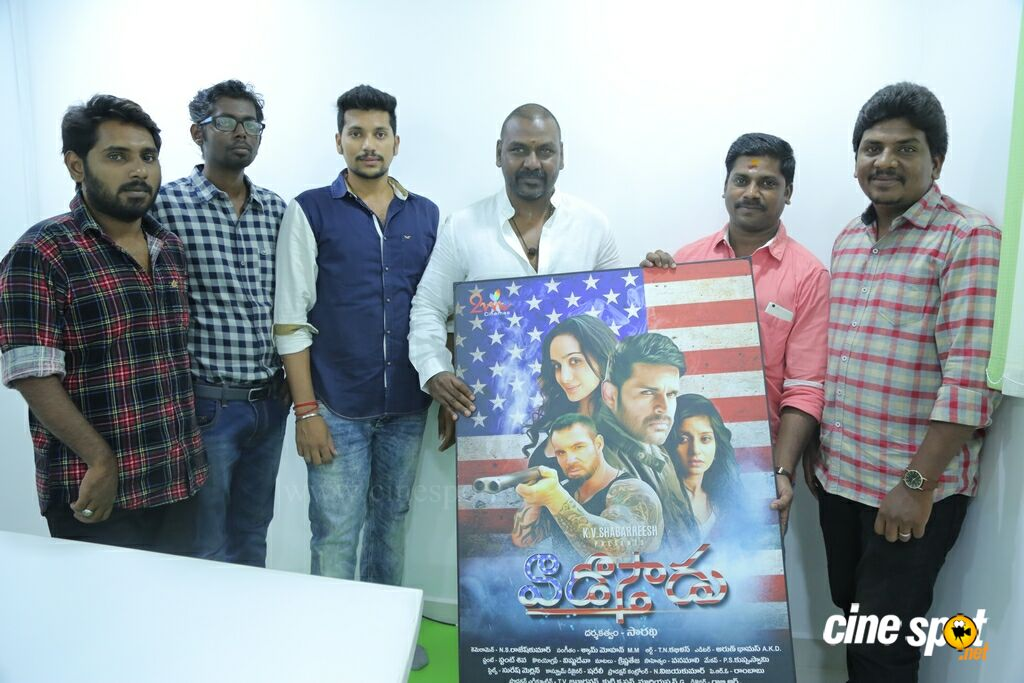 Raghava Lawrence Launches Vaadu Osthadu Motion Poster (6)