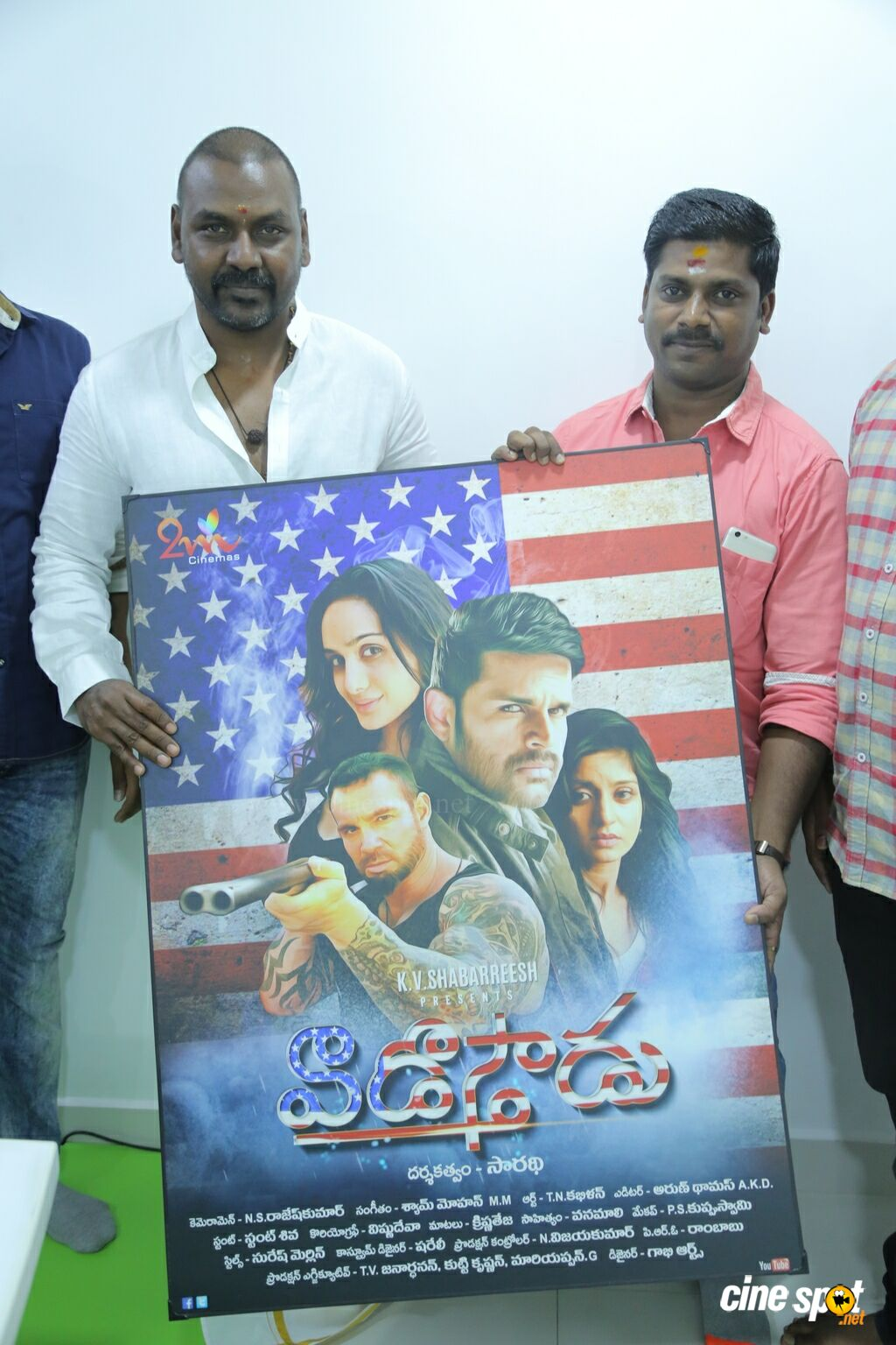 Raghava Lawrence Launches Vaadu Osthadu Motion Poster (7)