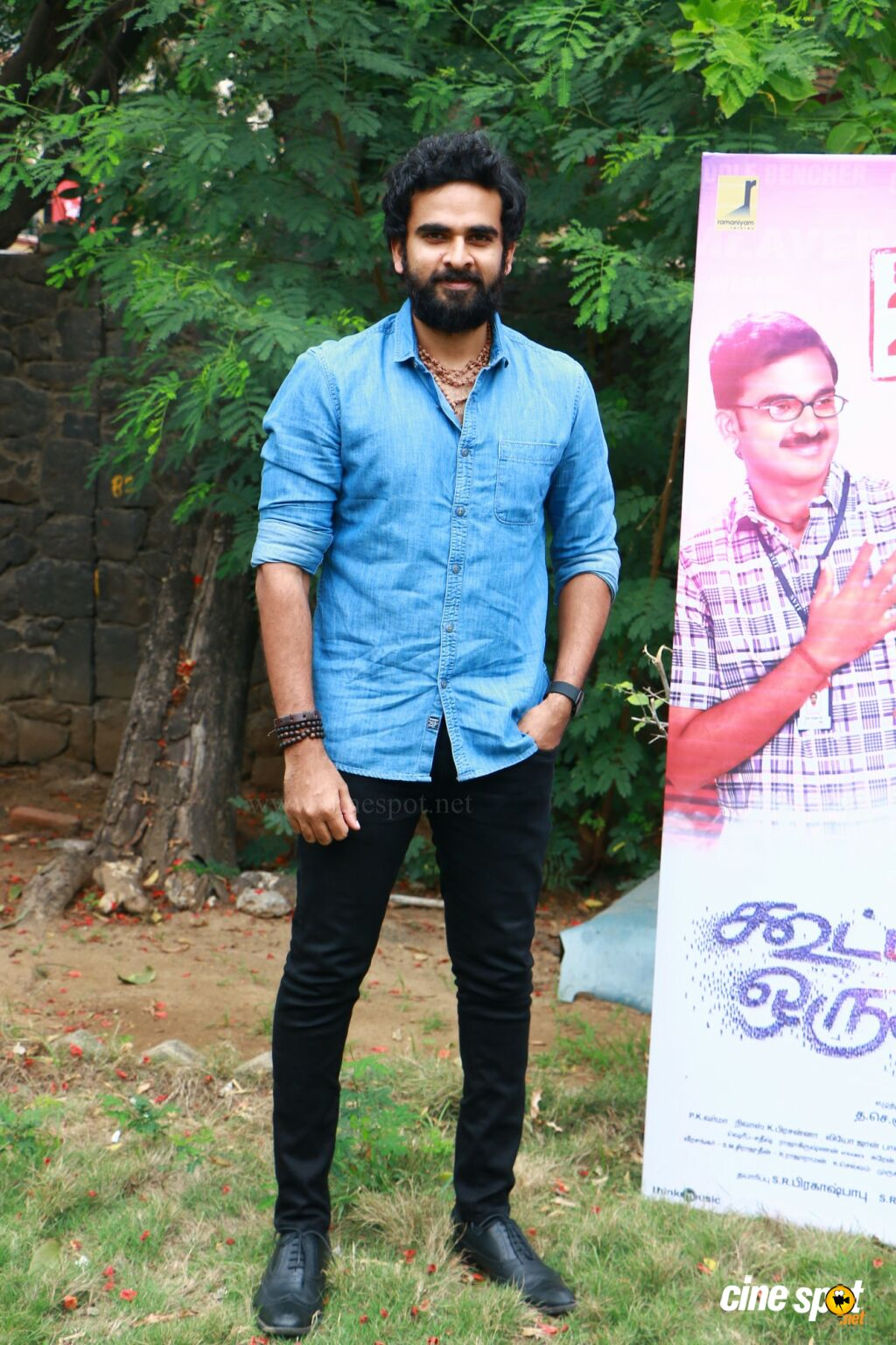 Ashok Selvan at Kootathil Oruthan Press Meet (6)