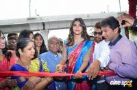 Pooja Hegde Launches Anutex Shopping Mall Photos