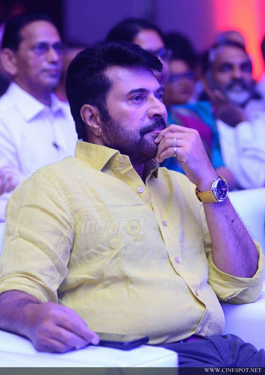 Mammootty at South Indian Bank Anniversary Celebration (8)