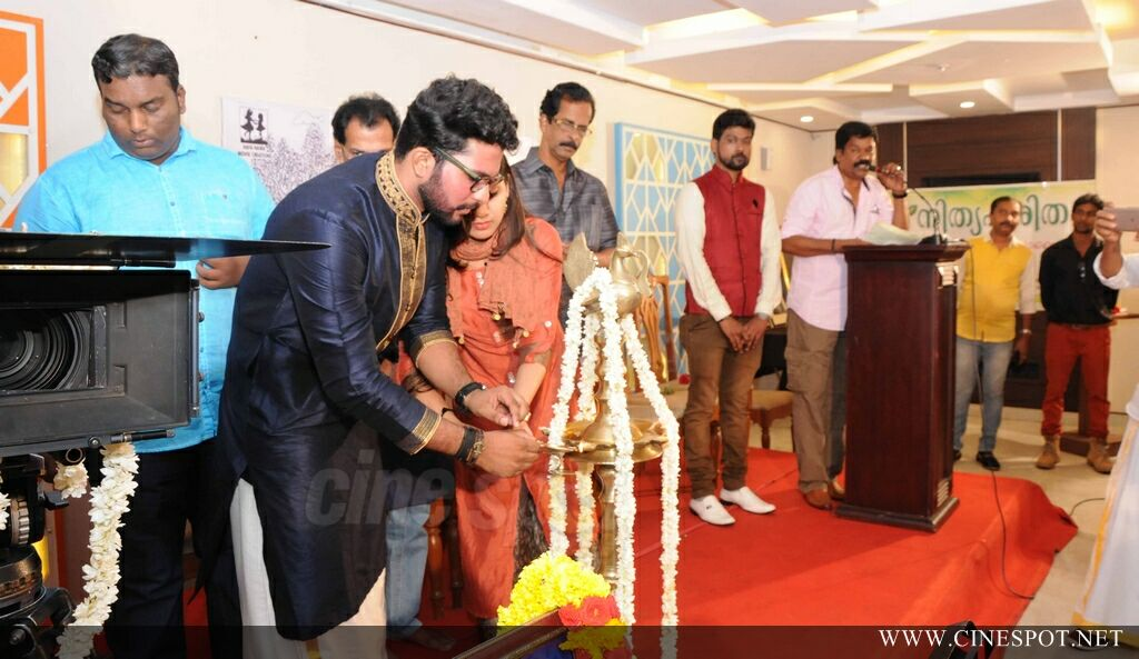 Violet Pookkal Malayalam Movie Pooja (7)