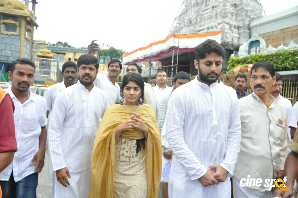 LIE Movie Team Visits Tirumala (5)