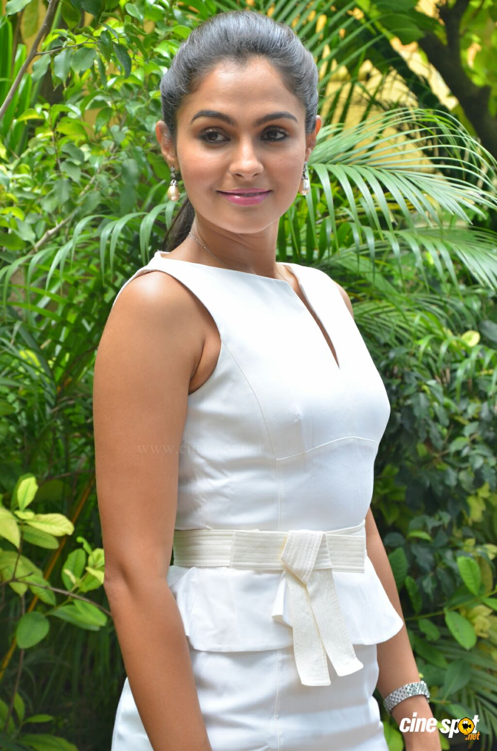 Andrea Jeremiah at Taramani Success Meet (12)
