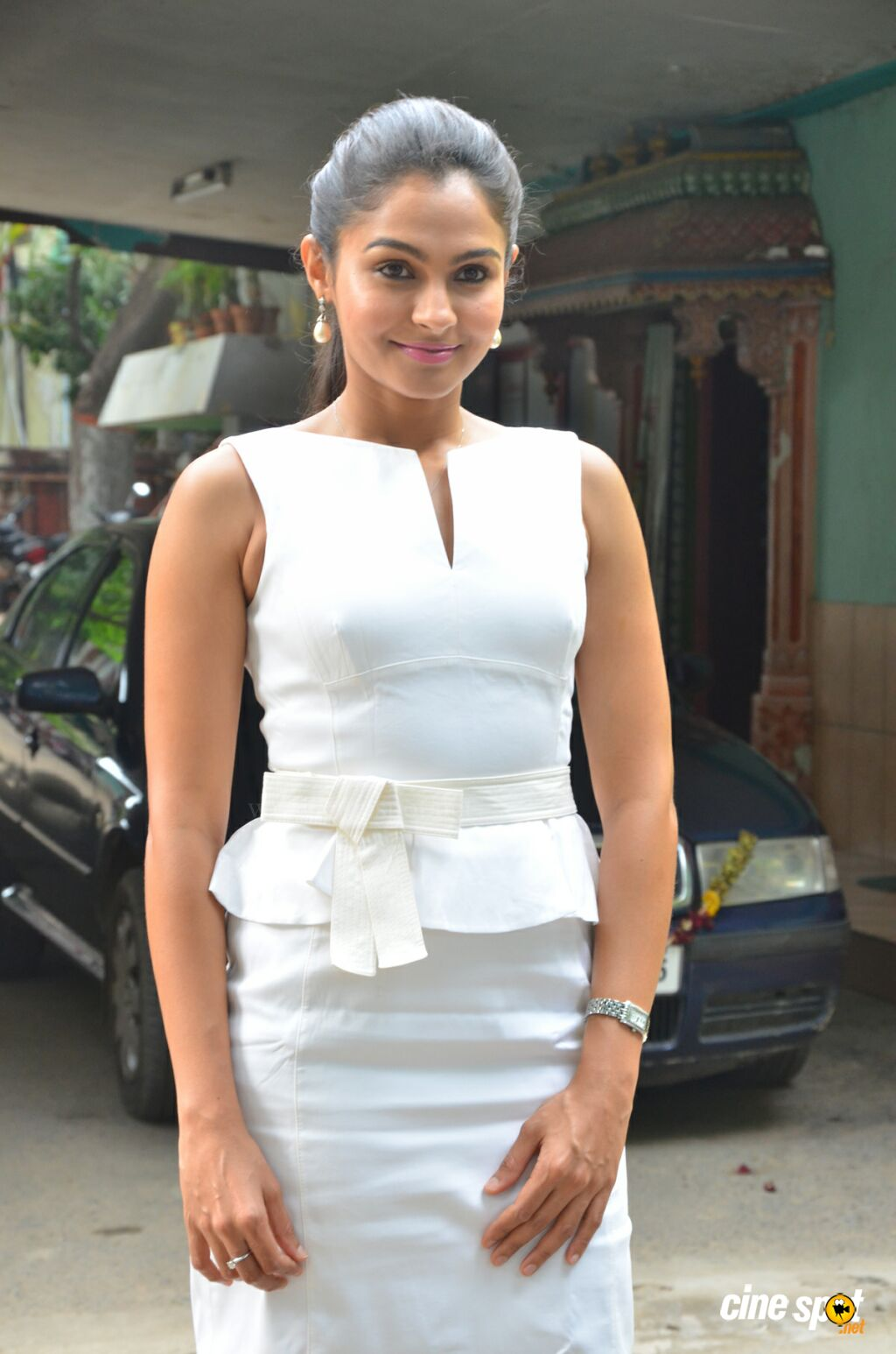 Andrea Jeremiah at Taramani Success Meet (7)