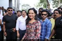 Manju Warrier At Sony Showroom Inauguration Photos