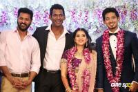 Vishal Sister Aishwarya Wedding Reception Photos
