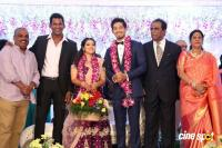 Vishal Sister Aishwarya's Wedding Reception (22)
