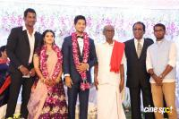 Vishal Sister Aishwarya's Wedding Reception (3)