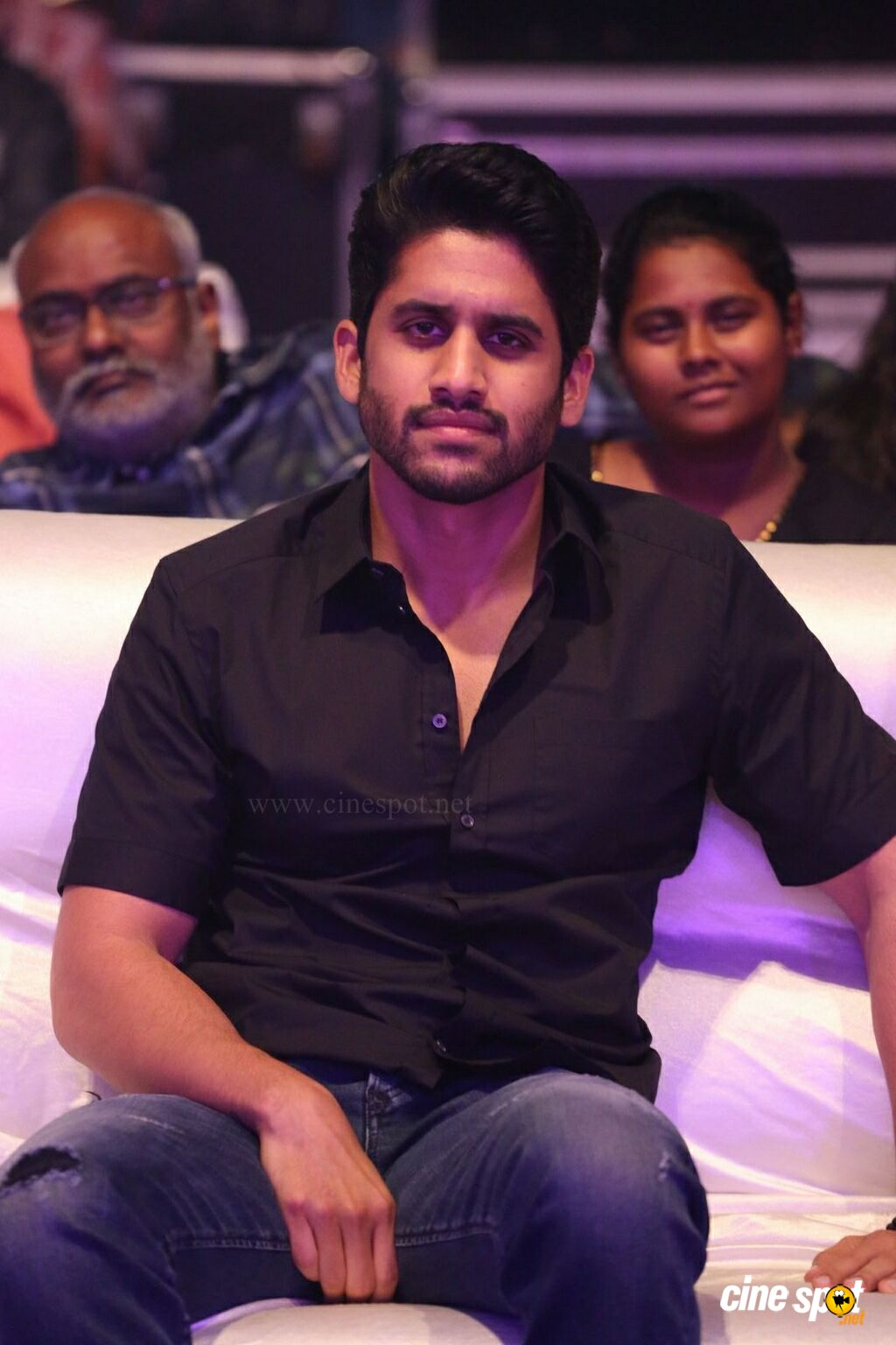 Naga Chaitanya at Yuddham Sharanam Audio Launch (12)