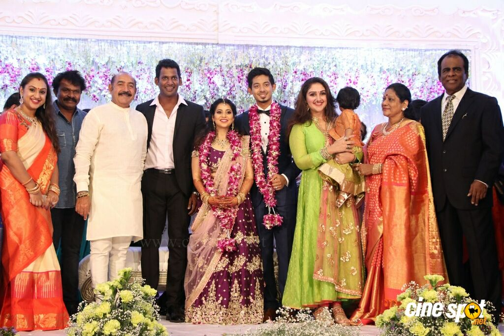 Aishwarya Reddy Wedding Reception Stills (71)