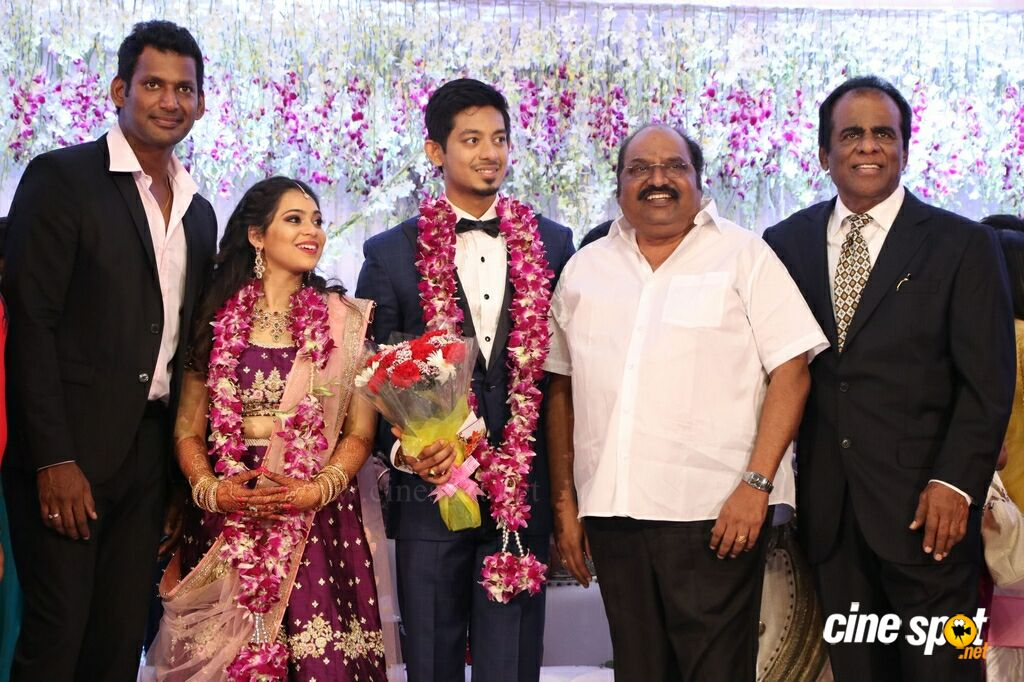 Aishwarya Reddy Wedding Reception Stills (72)