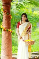 Actress Aavaana Wishing You All Happy Onam Photos (1)