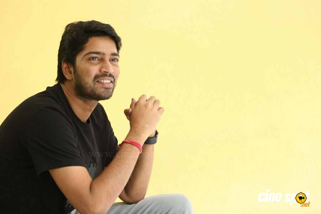 Meda Meeda Abbayi Hero Allari Naresh Interview Photos (27)