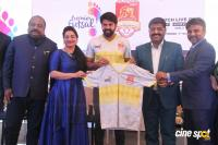 Arya Launches VNCT Chennai Singhams Team Jersey Photos