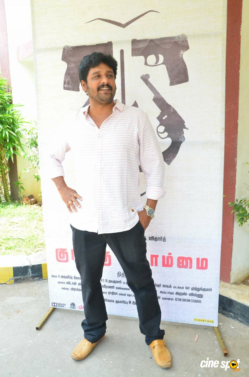 Vidharth at Kurangu Bommai Thanks Giving Press Meet (2)