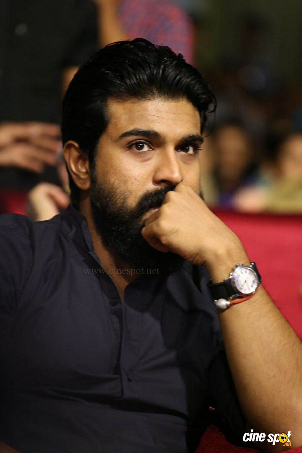 Ram Charan at Srivalli Pre Release Function (19)