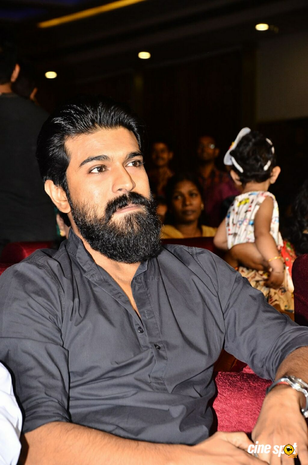 Ram Charan at Srivalli Pre Release Function (6)