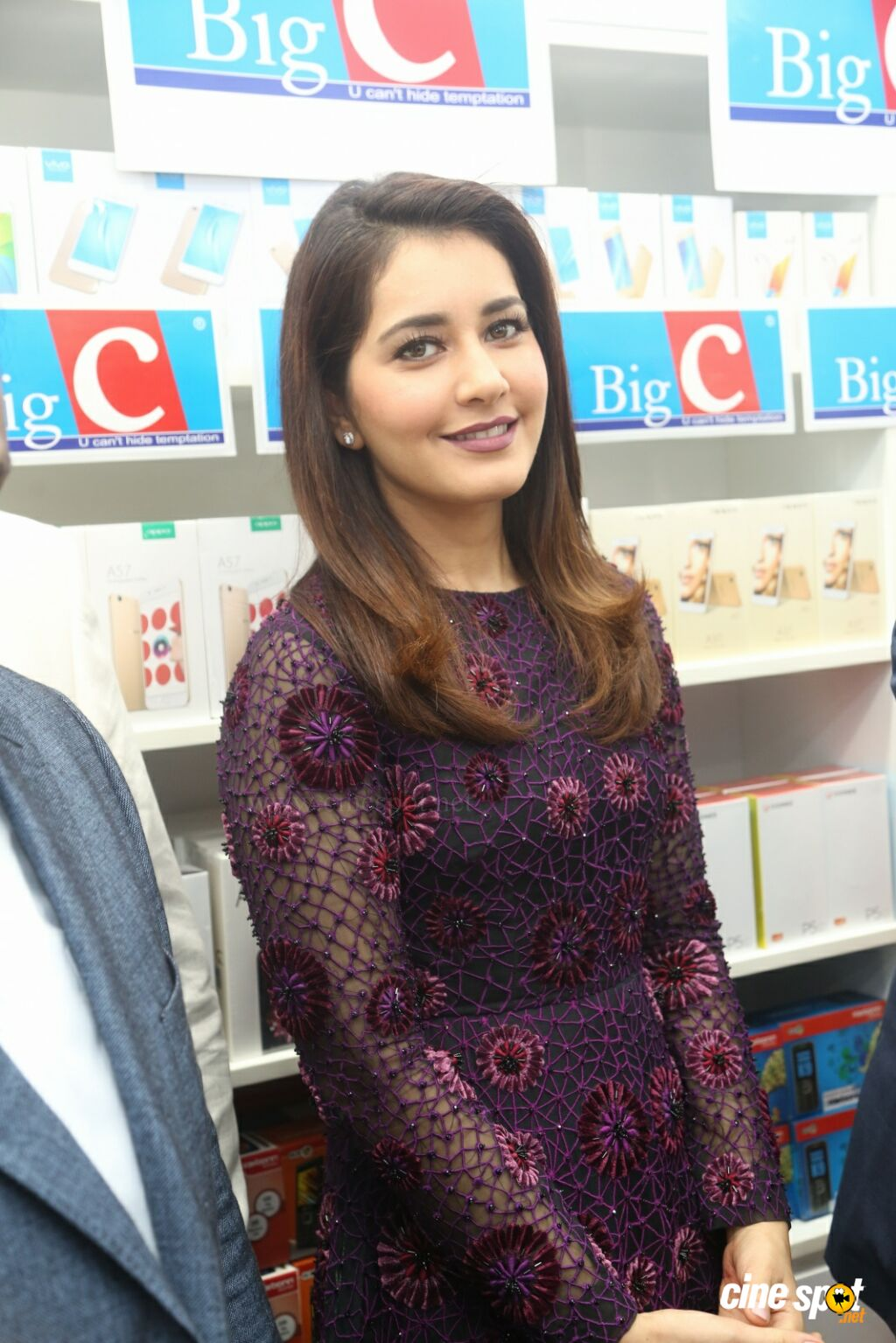 Raashi Khanna Launches Big C Mobile Store (22)