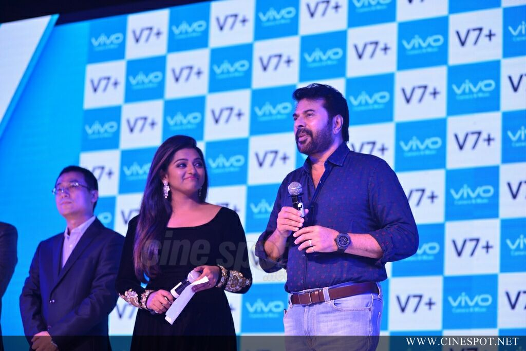 Vivo V7 Plus Launch by Mammootty (21)