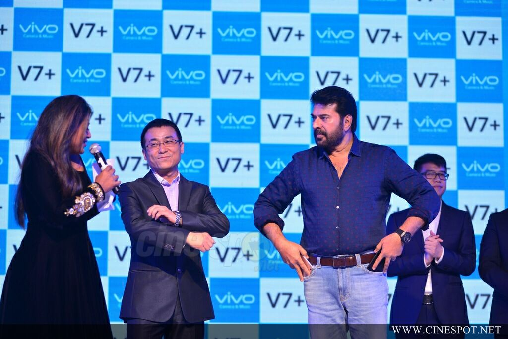 Vivo V7 Plus Launch by Mammootty (31)