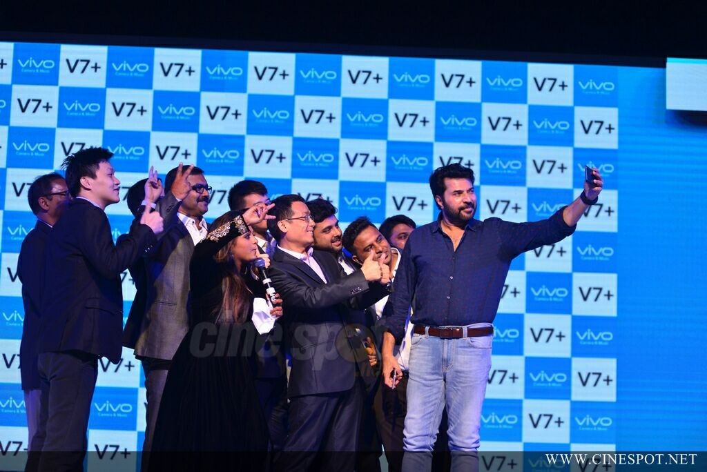 Vivo V7 Plus Launch by Mammootty (35)